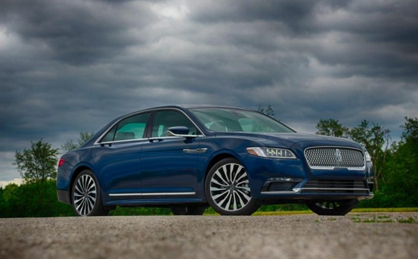 2017 Lincoln Continental – A Traditional Revival Of A Classic Nameplate