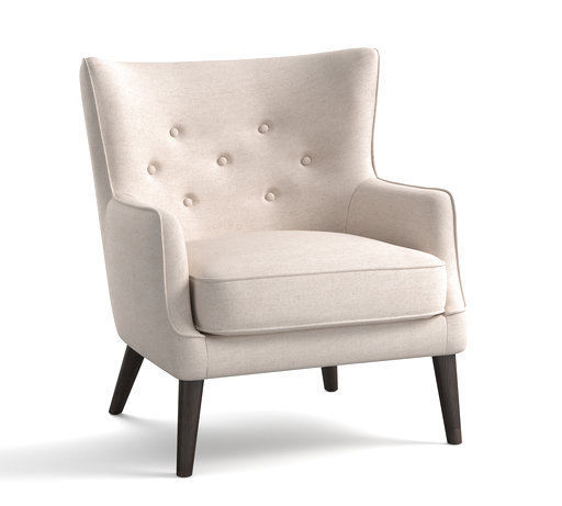RIGHT AT HOME: Traditional wing chairs with modern twist
