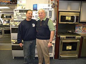 Great service at Bob Coccia's Center for Appliances in Bayside